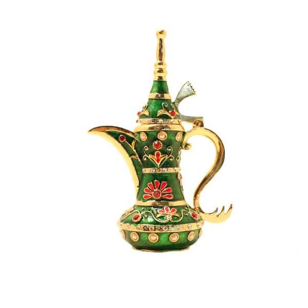 Decorative Coffee Pot (Arabic Traditional Dallah) Medium Size and Suitable Weight