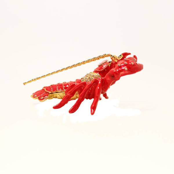 Lobster Showpiece Decorated for Kitchen and Table