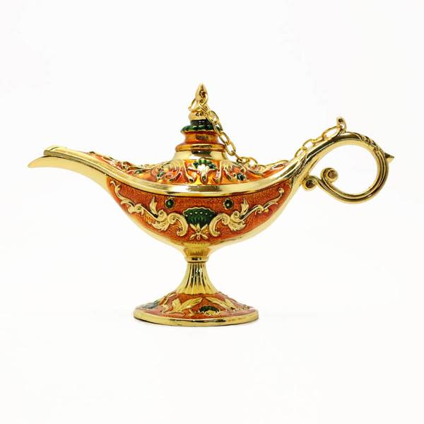 Aladdin and his Magical Oil Lamp for home decoration
