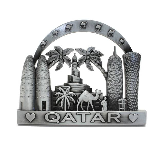 Qatar Landmarks Decorative Accessory with Stand