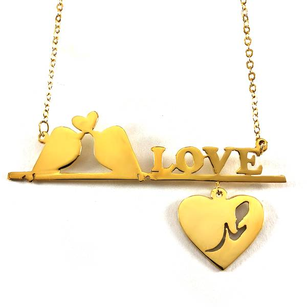 I Love You Name Necklace for Lovers and Intimate Friends