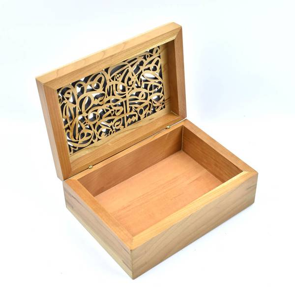 Arabisc Cherry Wood Box
