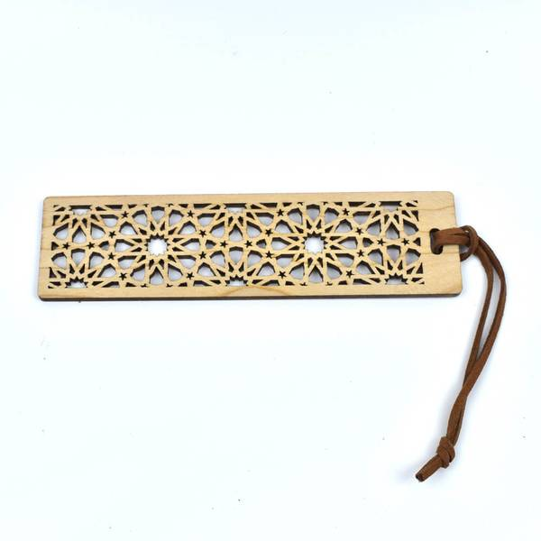 Arabisc Style Luxury Wooden Bookmark