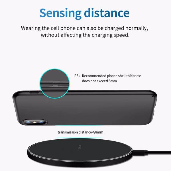 Fast Wireless Charger Two Color White / Black