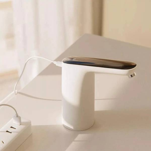 Wireless Rechargeable Electric Dispenser Water Pump With USB Cable